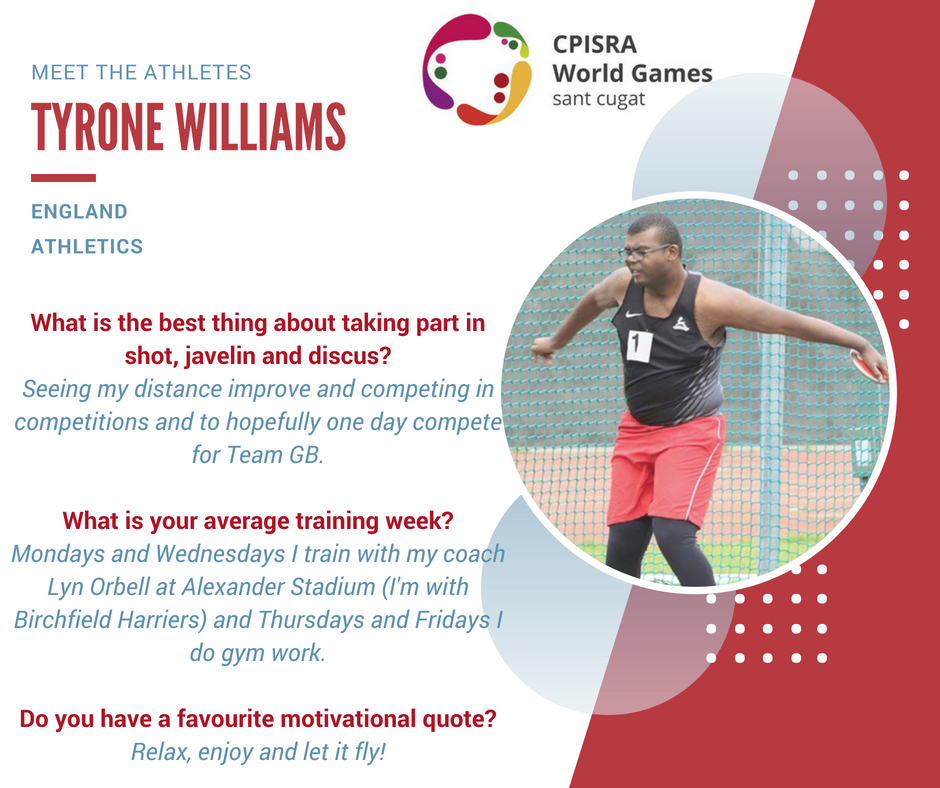 Tyrone Williams athlete profile